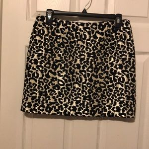 Leopard skirt by Kendall and Kylie